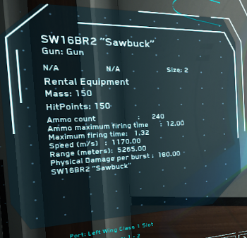 "MtheFGames.de | Star Citizen | Ballistic Repeater SW16BR2 ""Sawbuck"" 