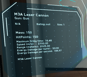 MtheFGames.de | Star Citizen | Laser Cannon M3A | © Cloud Imperium Games & Co.